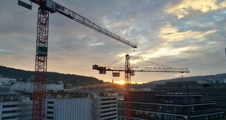 Sunset Crane Photography Going Viral